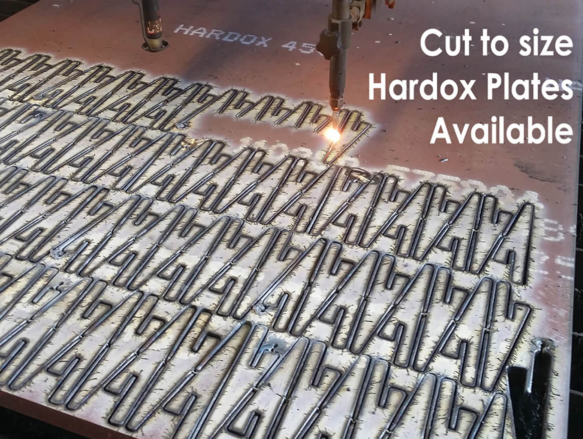 Cut to size Hardox Plates Available